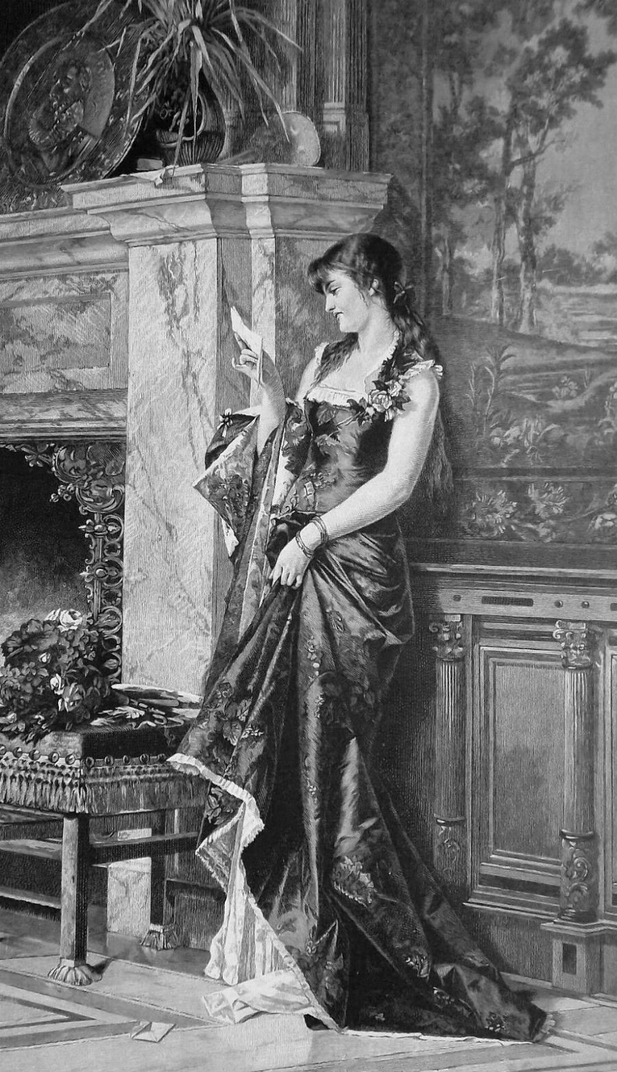 LOVELY-MAIDEN-Reading-Love-Letter-VICTORIAN-Era.jpg